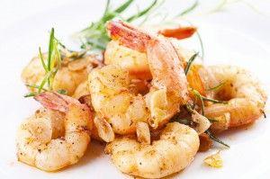 Lemon Garlic Shrimp and Sautéed Mushrooms and Zucchini - Healthy Recipes - joybauerweightloss.com