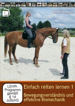 Einfach reiten lernen 1 (DVD) Bewegungsverständnis und effektive Biomechanik