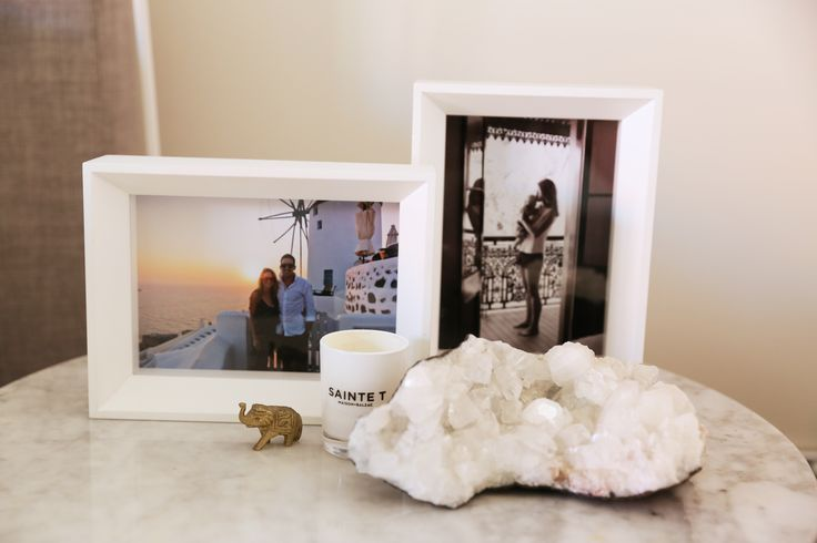 Kym Elphinstone - Articulate PR. Photography: Heidi Boardman. Bedside table styling inspiration.