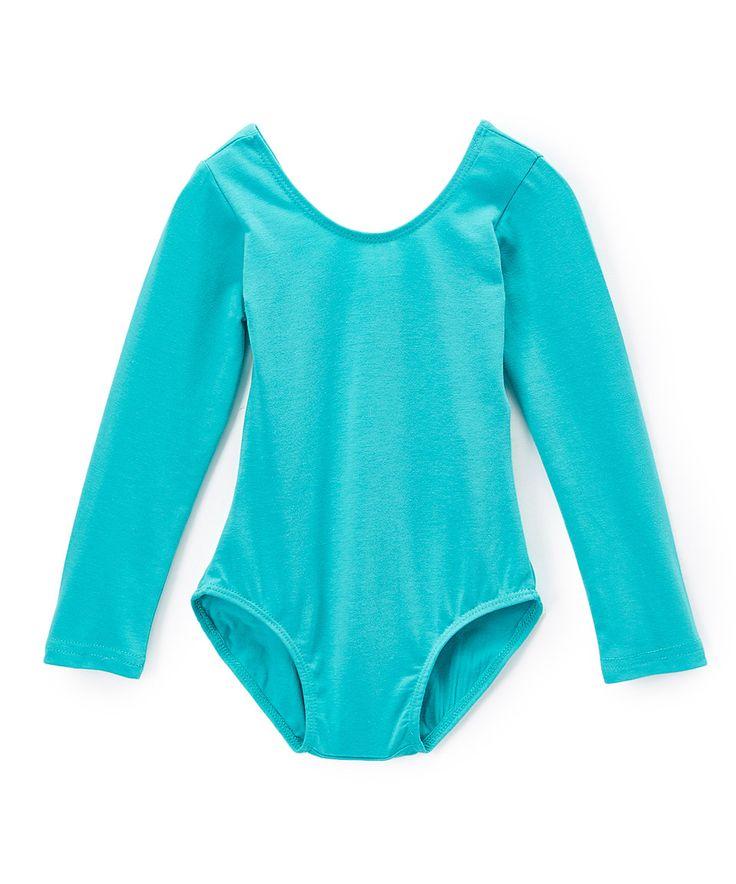 Look at this #zulilyfind! Green Leotard - Infant, Toddler & Girls by Wenchoice #zulilyfinds