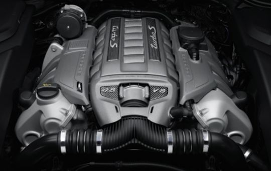 2018 Porsche Cayenne Engine