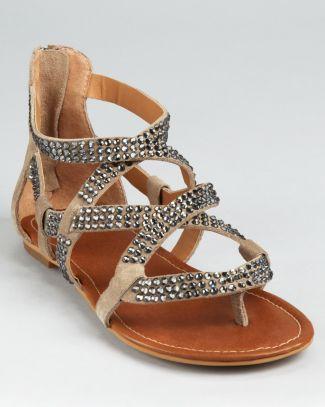 STEVEN BY STEVE MADDEN Sandals - Sariah Rhinestone Bloomingdale's