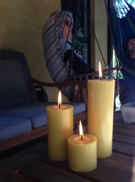 Turn-off-the-lights pack: 360 hours of beeswax candle light