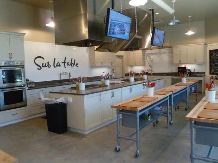 Classroom Kitchen Design : Take a few legit cooking classes crossed off the list