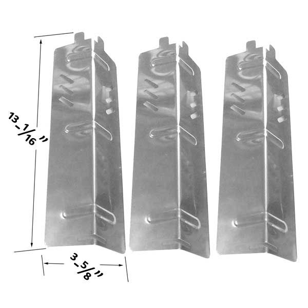3 PACK STAINLESS STEEL HEAT SHIELD FOR BACKYARD CLASSIC BY13-101-001-11 GRILL MODELS  Fits Compatible Backyard Classic Models : BY13-101-001-11