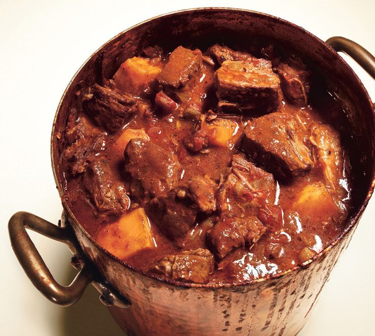 Texas Beef Brisket Chili with butternut squash
