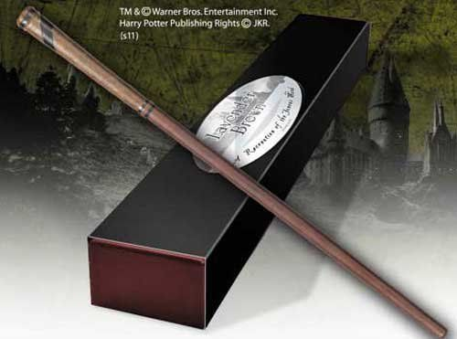 Lavender Brown Character Wand. Harry Potter Noble Collect... https://www.amazon.co.uk/dp/B004J3AEIM/ref=cm_sw_r_pi_dp_IliMxbKGA9G4E