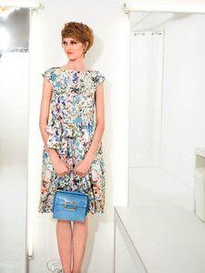 burda style: Damen - Kleider - Sommerkleider - U-Boot-Kleid - Bindeband