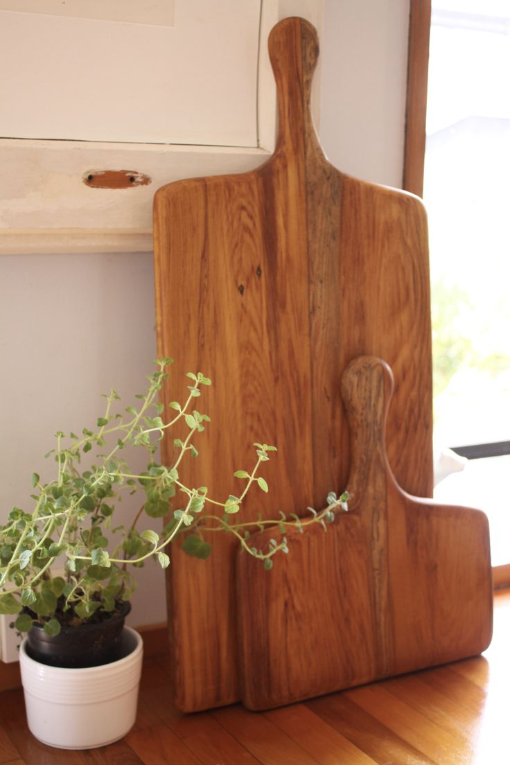 Up-cycled Rimu serving boards