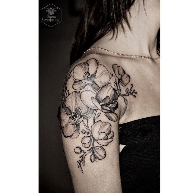 Not orchids, but I love this style! I would love this in magnolia
