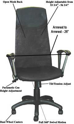 how to adjust lumbar support on a fern hawthorn chair