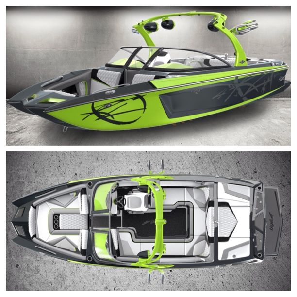 The Tige RZ4, build your own wakeboard boat at #tigestudio http://studio.tige.com/build/rz4/