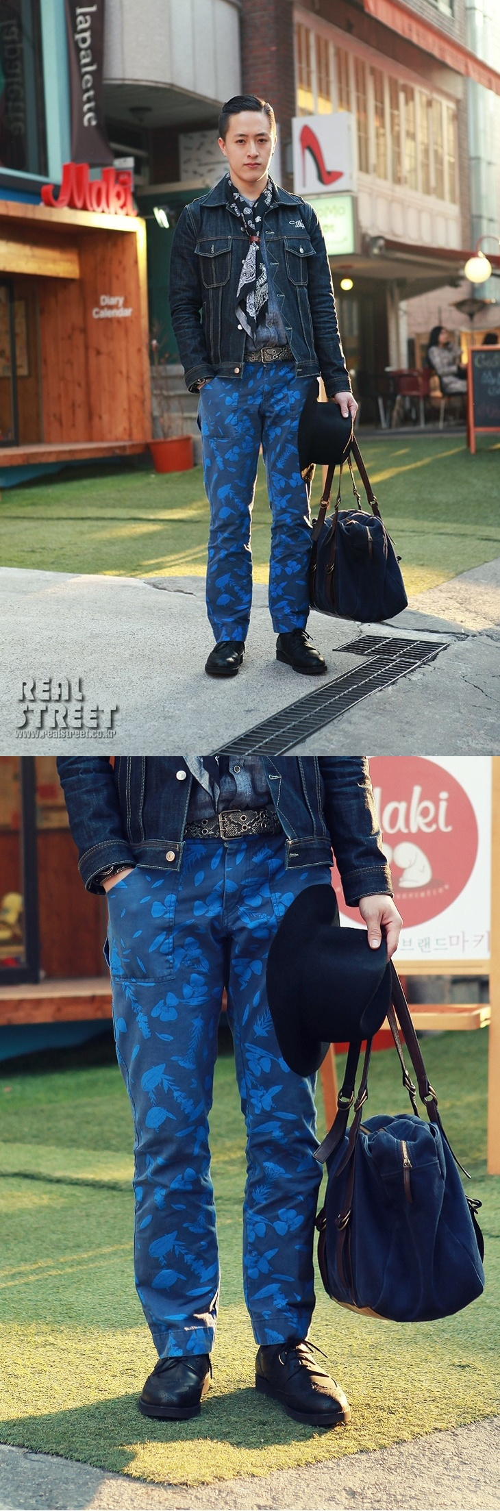 street fashion - GRIENICH HAMPTON COLLECTION WEEKEND NAVY