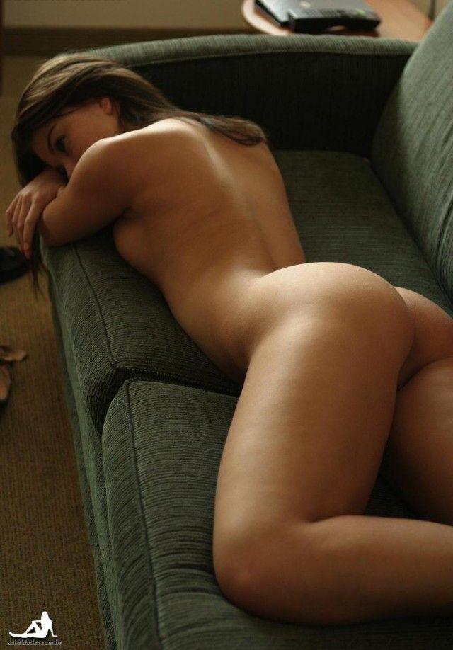 Hot naked sleeping woman