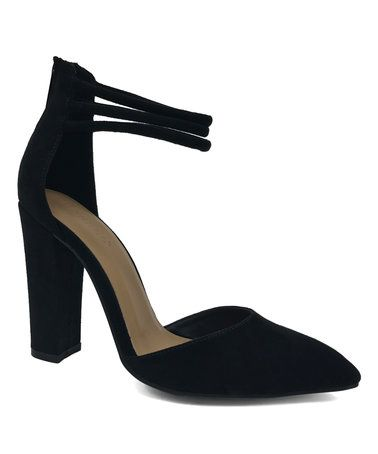 Love this Black Madam Sandal by Bamboo on #zulily! #zulilyfinds