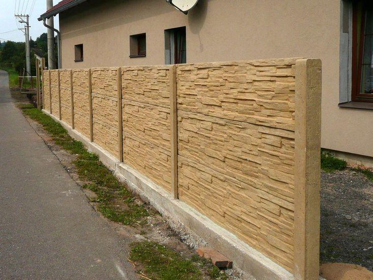 1000 ideas about concrete fence panels on pinterest for Garden fence posts ideas