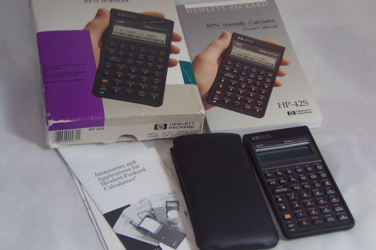 Hp42s manual array hewlett packard hp 42s rpn scientific calculator manual u0026 case in rh pinterest com fandeluxe Image collections