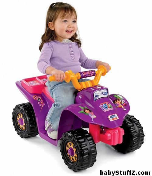 Fisher-Price Power Wheels Dora Lil Quad - Top 8 Cars for Kids in 2015 #powerWheels #carsForKids #carForKids #batteryPoweredCar #toyCars #carsForGirls #electricCarsForKids #electricCars #toyCarsForKids #rideOnCarsForKids #DoraLilQuad #FisherPrice