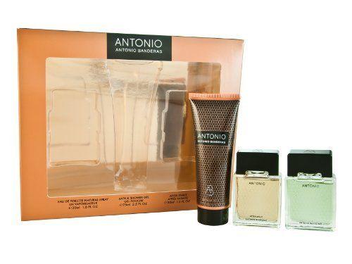 Antonio Coffret: Eau De Toilette Spray 30ml/1oz + After Shave 30ml/1oz + Shower Gel 75ml/2.5oz - 3pcs by Antonio Banderas. $9.00. ANTONIO by Antonio Banderas SET-EDT SPRAY 1 OZ & AFTERSHAVE 1 OZ & SHOWER GEL 2.5 OZ For Men. Antonio Coffret: 1x Eau De Toilette Spray 30ml/1oz 1x After Shave 30ml/1oz 1x Shower Gel 75ml/2.5ozIdeal both for personal use & as a giftProduct Line: AntonioProduct Size: 3pcs