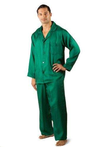 Men's Silk Pajamas - The Riviera - 100% Silk Pajamas for Men (Multiple Colors Available); Luxury Gifts for Men by TexereSilk