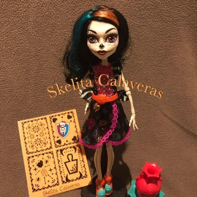 🌹Skelita Calaveras Art Class / Monster High Doll 🌹 on Carousell