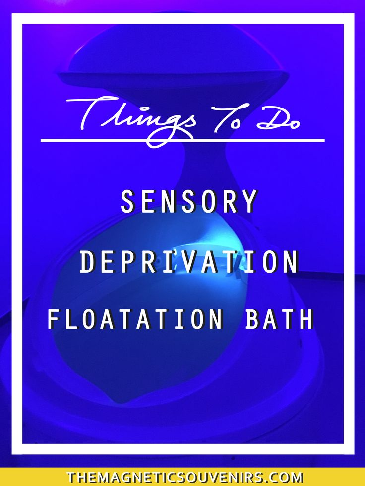 Want to try something different this weekend? Ever heard of a Sensory Deprivation Flotation Bath. Read the article to see what you need to know before you go.