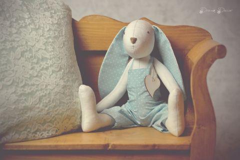 Bunny boy, Nyuszi fiú, Dekoráció, Dísz, Ünnepi dekoráció, Húsvéti apróságok, Meska 4900 Ft