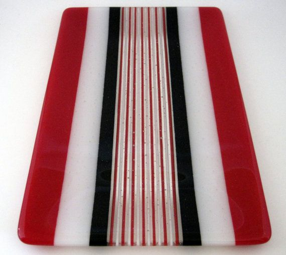 Hey, I found this really awesome Etsy listing at http://www.etsy.com/listing/101156697/red-striped-fused-glass-plate