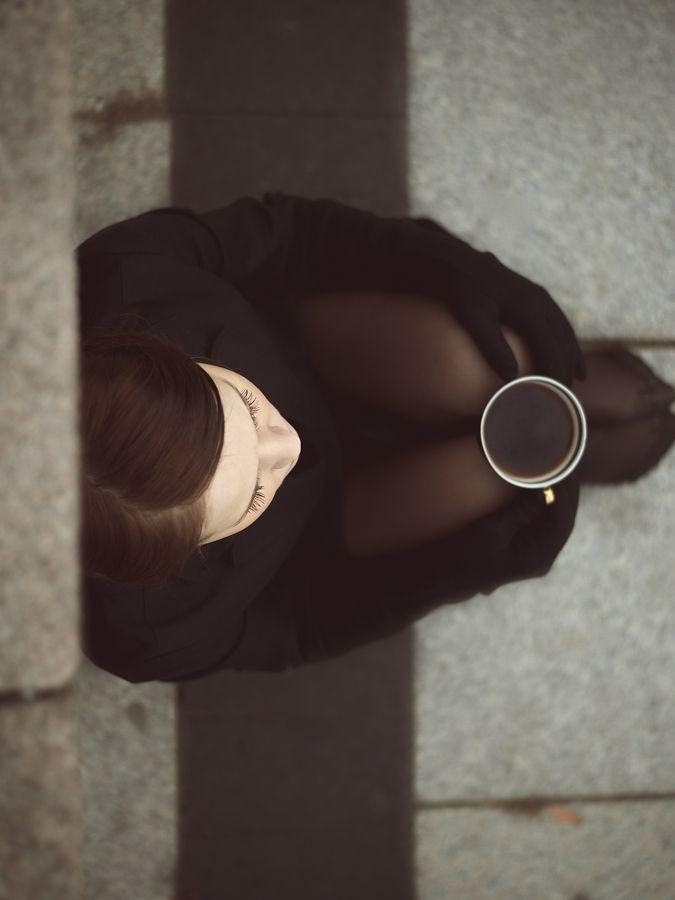 Black coffee by Monika Penkutė