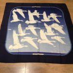 Hermès, Carré vintage Les Oiseaux Migrateurs - www.troc-choc.com