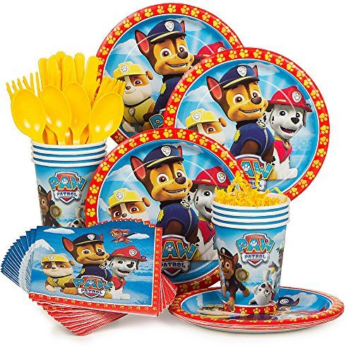Paw Patrol Party Supply Standard Kit (Serves 8) BirthdayExpress http://www.amazon.com/dp/B00V2V3K1W/ref=cm_sw_r_pi_dp_H96Yvb01F9556: