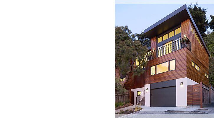 John Maniscalco Architecture   Work   Cole Valley Hillside