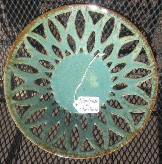 Ciotola intagliato ROBIN nozze ceramiche fatte a di thewheelandi