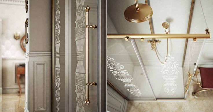 Shower cabin collection: Atelier by Box & Co