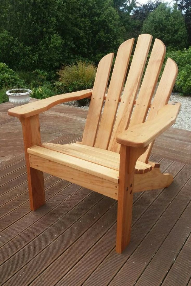 The Adirondack Chair's familiar design has been a favourite choice for outdoor seating around the world for many years. This classic, low slung seat is comfortable and strong.  Ayke & WhatNot