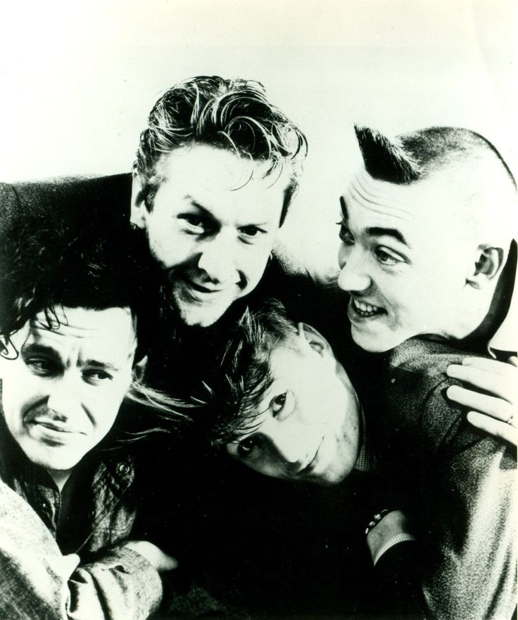 Stump band members Chris Salmon, Rob McKahey, Kev Hopper and Mick Lynch