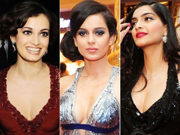 Plunging necklines have always been a hit with celebrities. But, it is the most risky trend to carry off as it can either make you look hot or even trashy. Here's a look at Bollywood beauties who gracefully flaunted low necklines.Image courtesy: BCCL