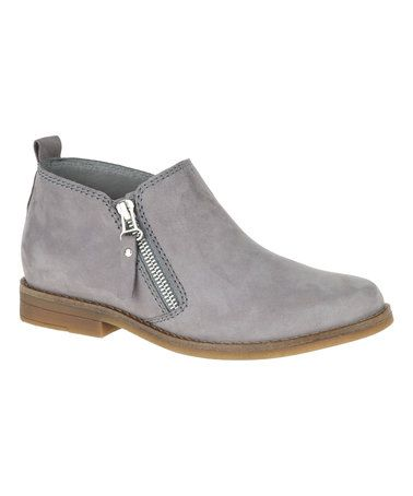 Another great find on #zulily! Gray Mazin Cayto Nubuck Boot #zulilyfinds