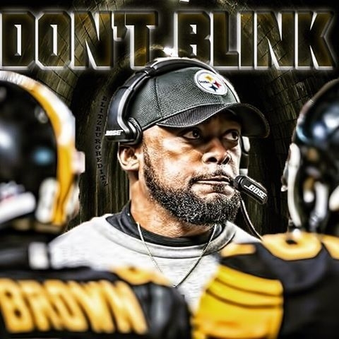 Not bad for a cheerleader #DontBlink #CoachTomlin #miketomlin #HuntFor7 #Steelers #PittsburghSteelers #Pittsburgh #Sixburgh #Blitzburgh #SteelCity #SteelersNation #SteelersCountry #PS4l #SteelCurtain #SteelersAllDay #Steelernation #AfcNorthChamps #werunthenorth #nflplayoffs #HereWeGo #HereWeGoSteelers  #BlackandGold #Stairwayto7