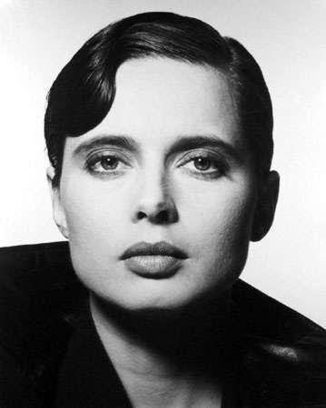 Rico Puhlmann  Isabella Rossellini, Harper's Bazaar, 1988