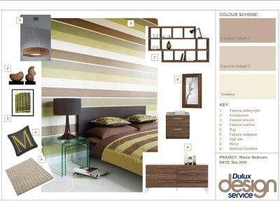 Example Of Inspirational Design Pack Mood Board Interior