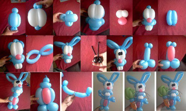 It's almost Easter...here's a great step-by-step illustration. Rabbit by Crecenciano Chano Moreno