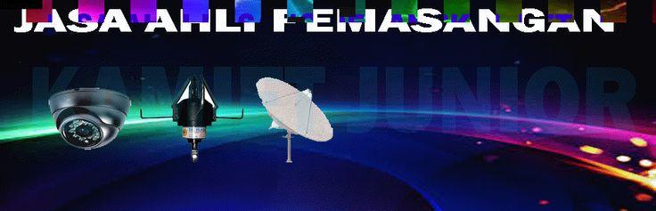 Agen dan jasa ahli pasang parabola, antena tv lokal, pasang camera cctv,anti petir