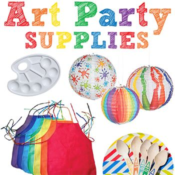 An art theme is one of my favorite party themes – art parties are so fun to plan and for kids to go to. Plus, the color scheme and party activities are no-brainers, which is a huge plus! I collect a lot of art party ideas on ...