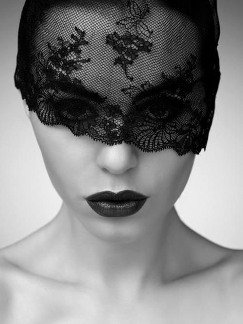 Black Lace Masquerade Mask