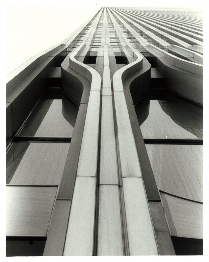 The outer shell of the WTC Towers. This skeleton is a 'curtain wall' but held so many until their end.