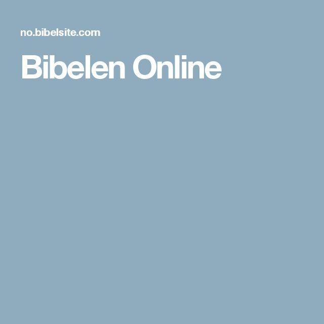 Bibelen Online