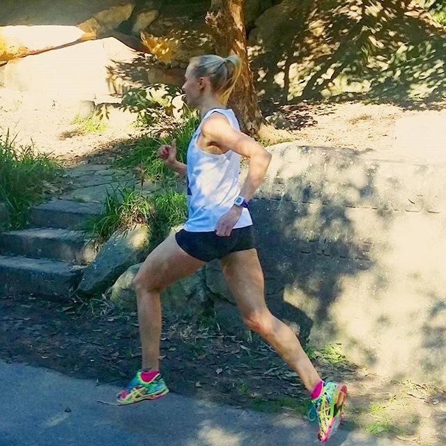 A well earned 'active rest' day 🙌 27km on Saturday and 32km (18km + 14km) on Sunday to round out a 115km week. Could do with a big sleep in this morning....but works awaits! 👣👣👣👣👣👣👣👣👣👣👣👣👣👣👣👣👣👣 #running #ultrarunning #marathontraining #instarunning #runspiration #fitspiration #runhappy #runitfast #queenlandinstarunners #australianinstarunners #runbrave #summerrunning #sunsupbunsup #worlderunners #runforthis #womensrunningcommunity #fitfluential #training #repostrunners…