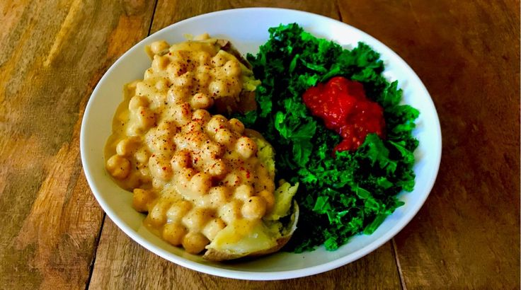 Top Engine 2 Recipes: Cheezy Chickpeas – Engine 2