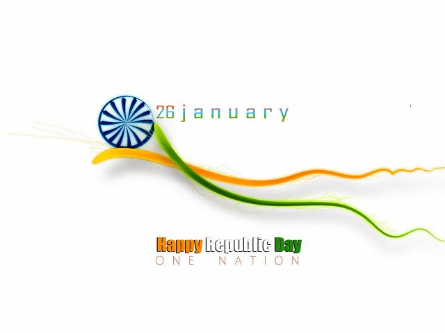 Celebration of Republic Day in India Wishes and Greetings Quote 26 January Republic Day of India Card Images Wallpaper